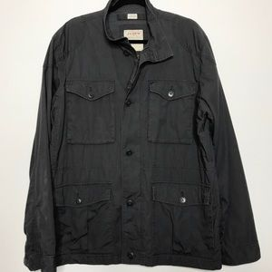 J. Crew Broken In Field Mechanic Jacket Gray XL